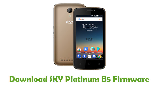 SKY Platinum B5 Stock ROM