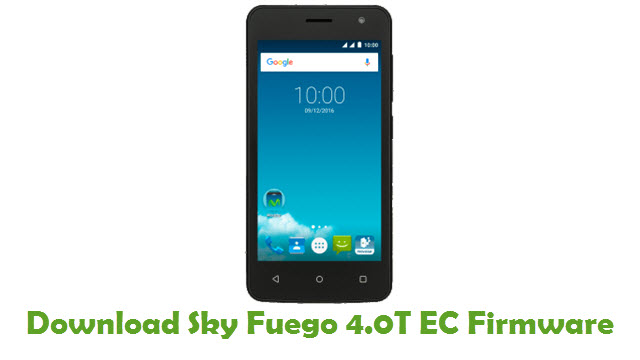 Download Sky Fuego 4.0T EC Stock ROM