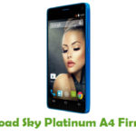 Sky Platinum A4 Firmware