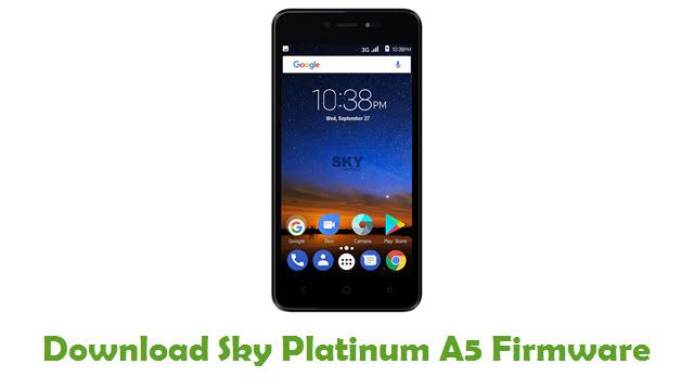 Download Sky Platinum A5 Stock ROM