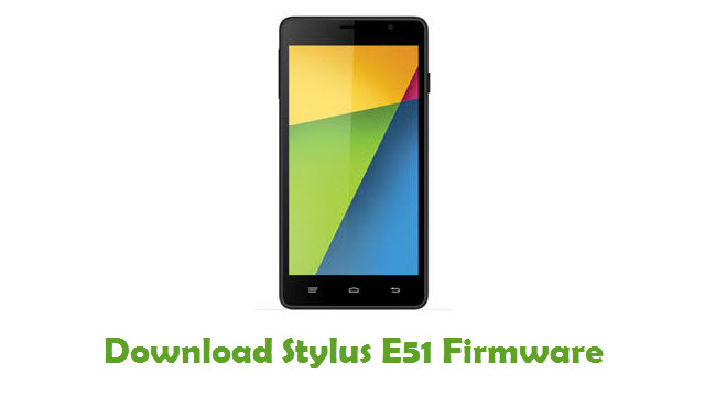 Stylus E51 Stock ROM