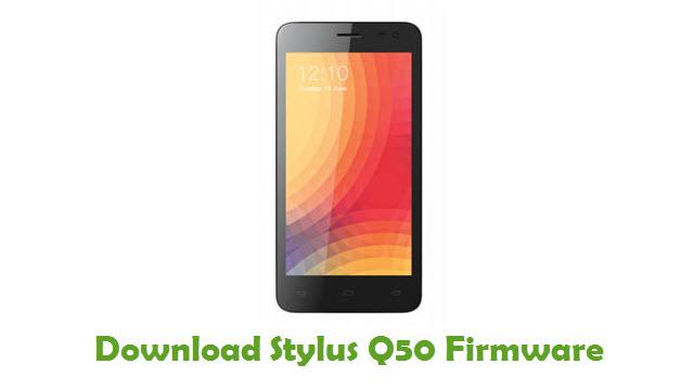 Stylus Q50 Stock ROM