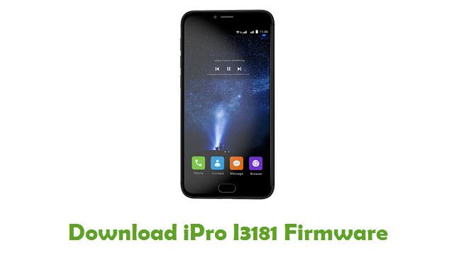 iPro I3181 Stock ROM