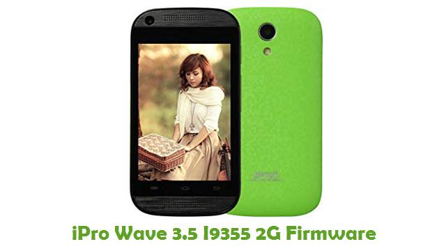 iPro Wave 3.5 I9355 2G Stock ROM