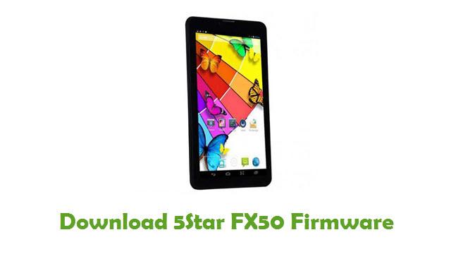 Download 5Star FX50 Firmware