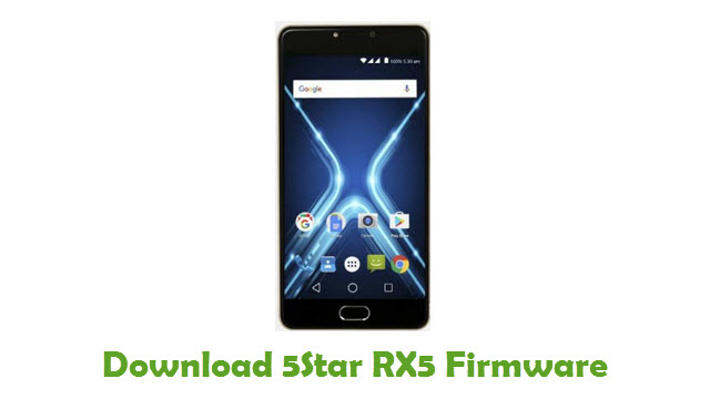 Download 5Star RX5 Firmware