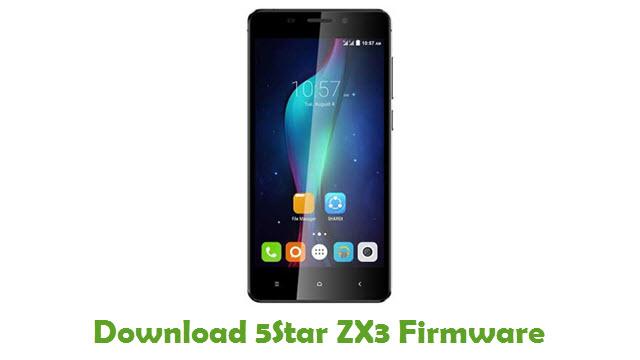 Download 5Star ZX3 Firmware