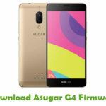 Asugar G4 Firmware