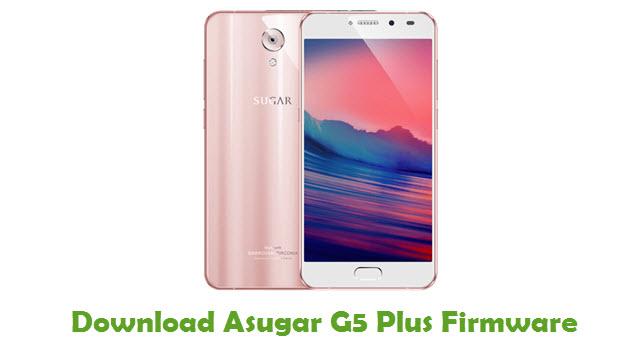 Download Asugar G5 Plus Firmware