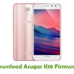 Asugar K10 Firmware