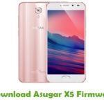 Asugar X5 Firmware