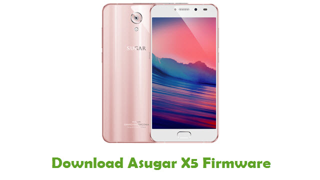 Download Asugar X5 Firmware