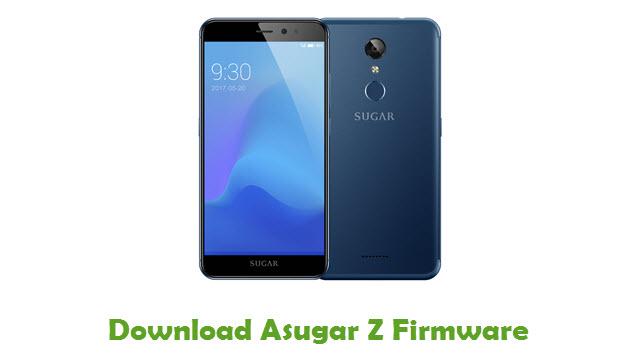 Download Asugar Z Firmware