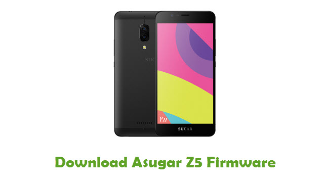 Download Asugar Z5 Firmware