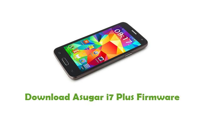 Download Asugar i7 Plus Firmware