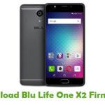 Blu Life One X2 Firmware