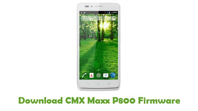 Download CMX Maxx P800 Firmware
