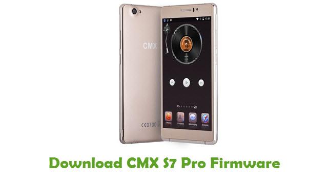 Download CMX S7 Pro Firmware