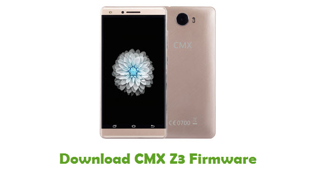 Download CMX Z3 Firmware