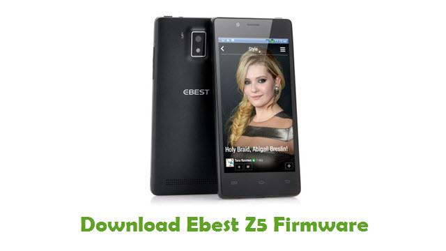 Ebest Z5 Stock ROM