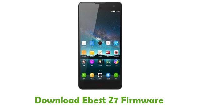 Ebest Z7 Stock ROM
