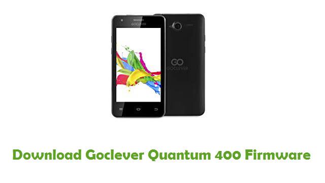 Goclever Quantum 400 Stock ROM