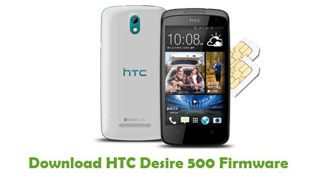 HTC Desire 500 Stock ROM