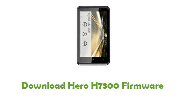 Hero H7300 Stock ROM
