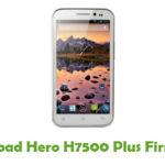 Hero H7500 Plus Firmware