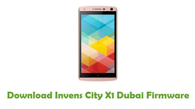 Invens City X1 Dubai Stock ROM