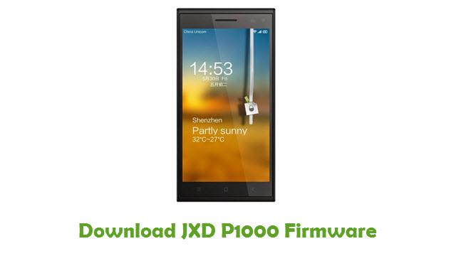 JXD P1000 Stock ROM