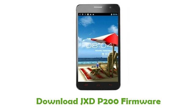 JXD P200 Stock ROM