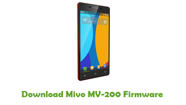 Mivo MV-200 Stock ROM