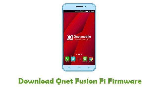 Qnet Fusion F1 Stock ROM