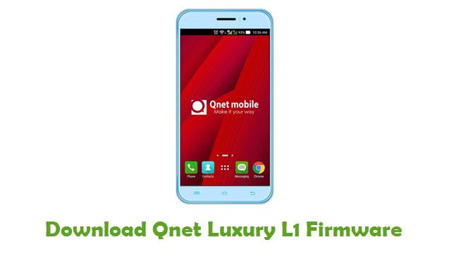 Qnet Luxury L1 Stock ROM