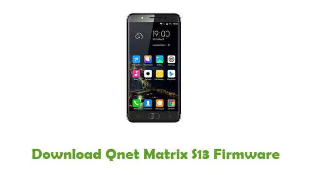Qnet Matrix S13 Stock ROM
