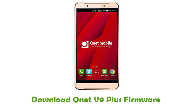 Qnet V9 Plus Stock ROM