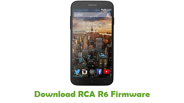 Download RCA R6 Stock ROM