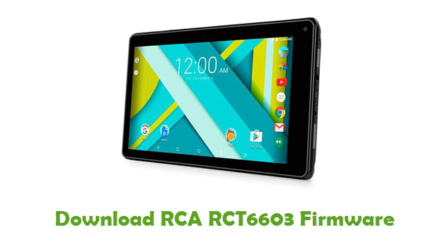 Download RCA RCT6603 Stock ROM