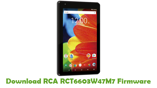 Download RCA RCT6603W47M7 Stock ROM