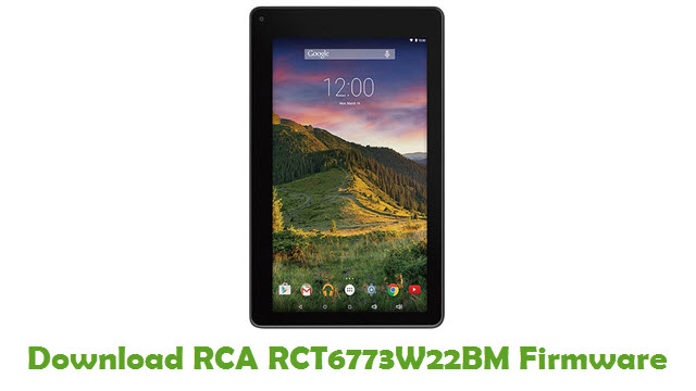 Download RCA RCT6773W22BM Stock ROM