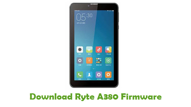 Download Ryte A380 Firmware