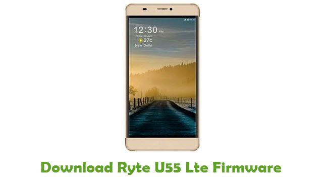 Ryte U55 Lte Stock ROM