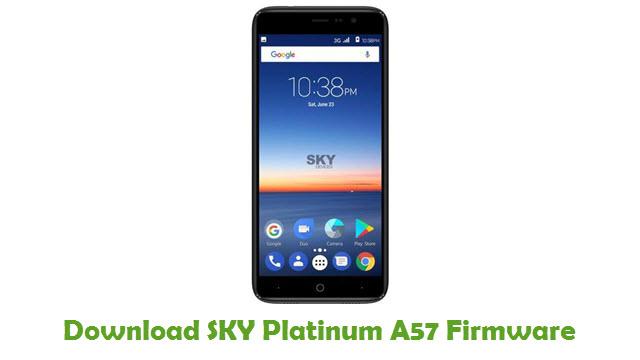 Download SKY Platinum A57 Stock ROM