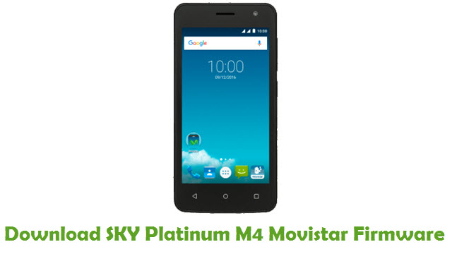 SKY Platinum M4 Movistar Stock ROM
