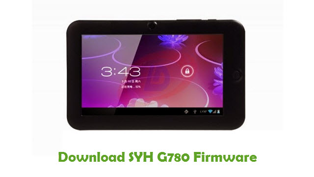 Download SYH G780 Stock ROM
