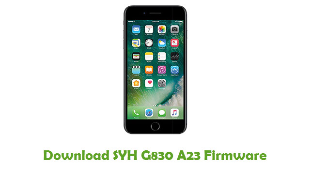 SYH G830 A23 Stock ROM