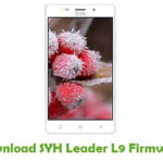 SYH Leader L9 Firmware