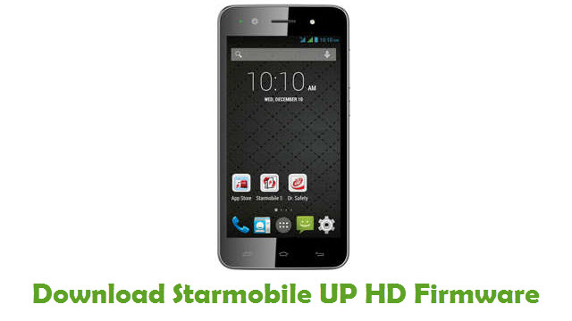 Starmobile UP HD Stock ROM