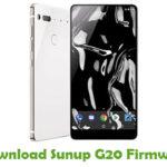Sunup G20 Firmware